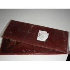 Vers de vase Rouge congelé en plaque de 500gr,  en lot de 2 soit 1 kg.